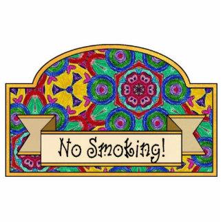 De no fumadores - muestra decorativa escultura fotográfica