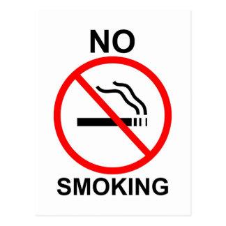 De no fumadores tarjetas postales