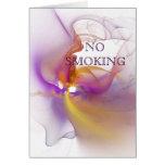 De no fumadores tarjetón