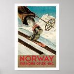 ~ de Noruega el hogar del esquí Impresiones