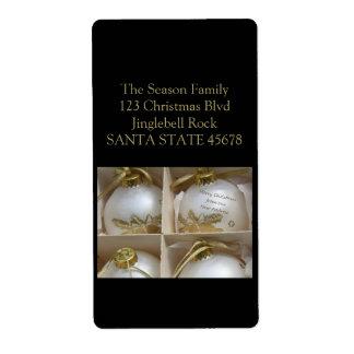 De nuestros nuevos ornamentos caseros etiqueta de envío