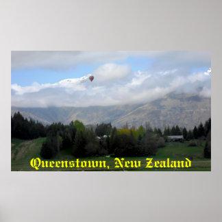 ~ de Nueva Zelanda que vive en una postal Póster