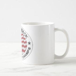 De nuevo a campeones traseros de la guerra mundial tazas de café