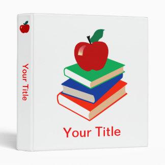 """De nuevo a escuela, a los libros y a Apple Carpeta 1"""""""
