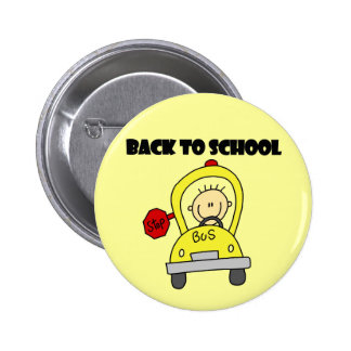 De nuevo a escuela pin