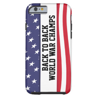 De nuevo a guerra mundial trasera defiende el caso funda para iPhone 6 tough