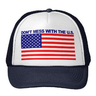 De nuevo a guerra mundial trasera los campeones ad gorras de camionero