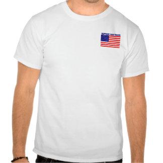 De nuevo a guerra mundial trasera los campeones ad tshirt