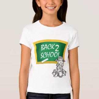 De nuevo a la camiseta de la escuela