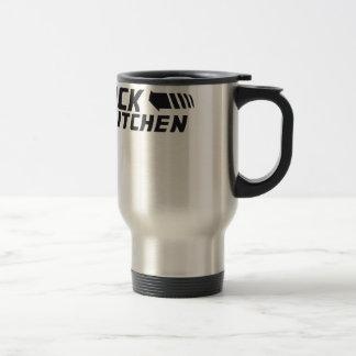 De nuevo a la cocina taza de viaje de acero inoxidable