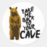 de nuevo a la cueva etiquetas