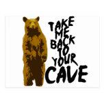 de nuevo a la cueva tarjetas postales