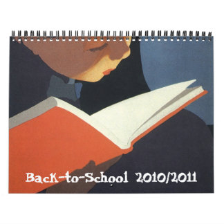 De nuevo a la escuela 2010/2011 calendario