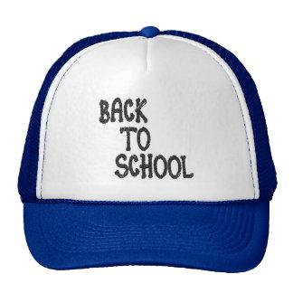 de nuevo a la escuela - gorra