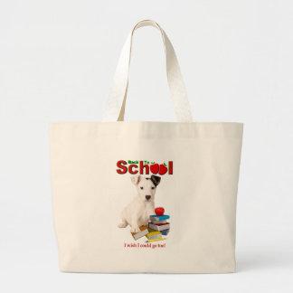 De nuevo a la escuela - Jack Russell Terrier Bolsas