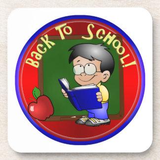 De nuevo a la escuela - libro de lectura de Little Posavasos De Bebida