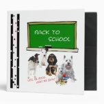 """De nuevo a la escuela - perritos 2"""" carpeta"""