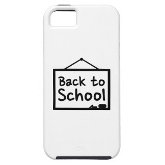 De nuevo a la pizarra de la escuela iPhone 5 Case-Mate coberturas
