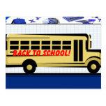 De nuevo a la postal de la escuela