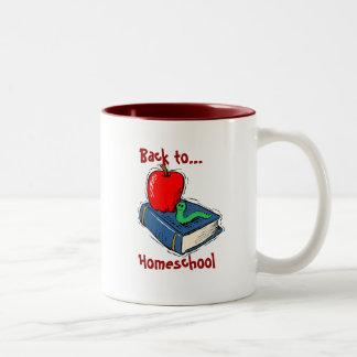 De nuevo a la taza de café de Homeschool