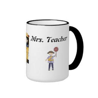 De nuevo a la taza de los profesores de escuela