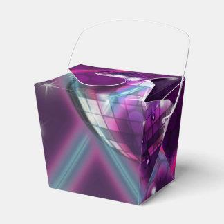 DE NUEVO a las cajas atractivas del favor de baile Cajas Para Regalos De Fiestas