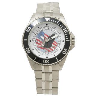 De nuevo a los campeones traseros 2 del mundo relojes de mano