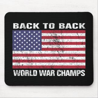 De nuevo a los campeones traseros de la guerra mun tapetes de ratones