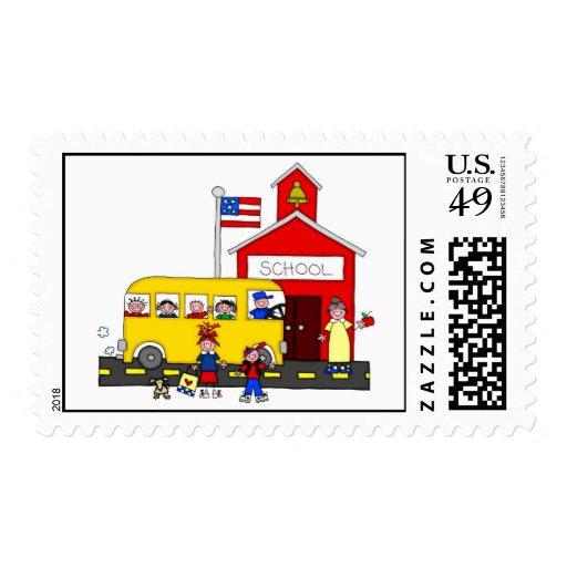 De nuevo a sellos de los profesores de escuela