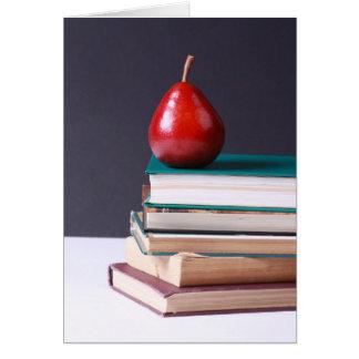 De nuevo a tarjeta de felicitación de la escuela