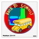 De nuevo al autobús escolar y a la mochila azul