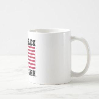 De nuevo al campeón trasero de la guerra mundial tazas de café