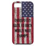 De nuevo al caso trasero del iPhone 5 de los campe iPhone 5 Case-Mate Protectores