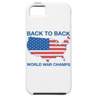 De nuevo al caso trasero del iPhone de los campeon iPhone 5 Case-Mate Fundas