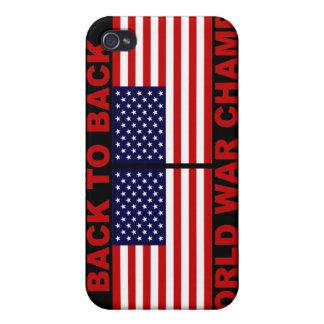 De nuevo al caso trasero del iPhone de los campeon iPhone 4/4S Carcasas