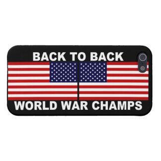 De nuevo al caso trasero del iPhone de los campeon iPhone 5 Carcasa