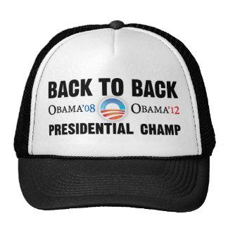 De nuevo al gorra presidencial trasero del campeón