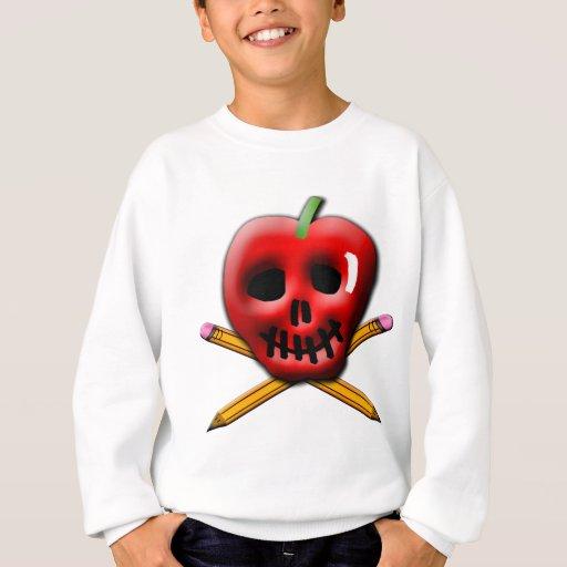 De nuevo al pirata de la escuela inspirado diseño sudadera