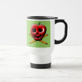 De nuevo al pirata de la escuela inspirado diseño taza de viaje