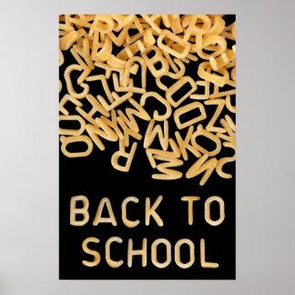 De nuevo al poster de la escuela
