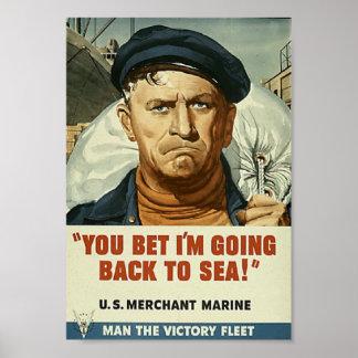 De nuevo al poster del mar