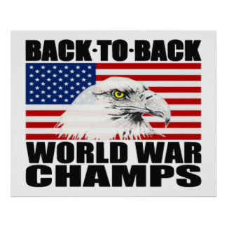 De nuevo al poster trasero de Eagle de los campeon