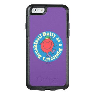 ¡De nuez como desayuno de una ardilla! Funda Otterbox Para iPhone 6/6s