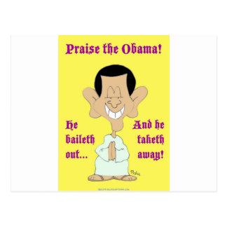 de obama del baileth alabanza ausente del taketh h tarjeta postal