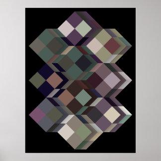 De op sys -Arte arte geométrico óptico Impresiones