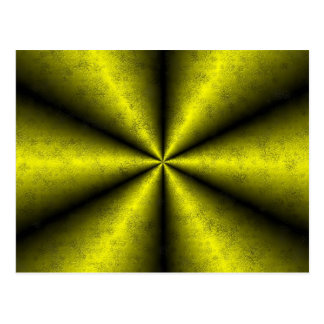 De oro - amarillo - negro arcos iris postales