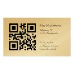 De oro tarjeta de presentación (individualmente ge tarjetas de visita