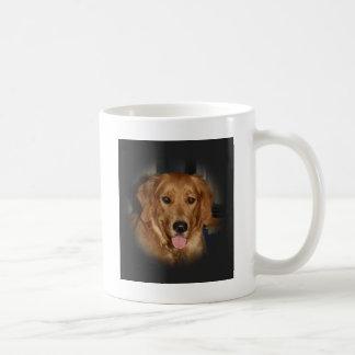 De oro taza de café