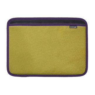 De oro texturizada fundas macbook air