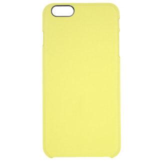 De oro vivo funda clearly™ deflector para iPhone 6 plus de unc